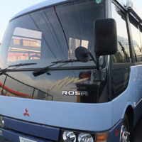 三菱 ROSA(4WD)マイクロバス