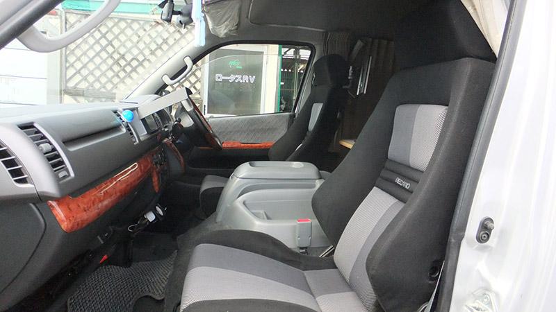 トヨタハイエース ワンオフキャンピングカー